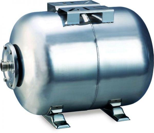 гидроаккумулятор горизонтальный 24л (нерж) Aquatica 779111