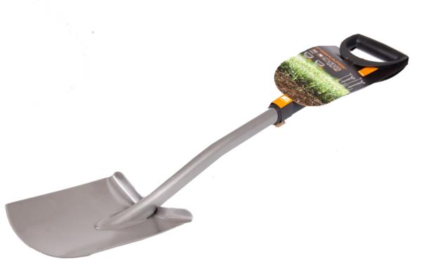 Сад.инстр.руч. fiskars лопата телескопическая с закругленным лезвием