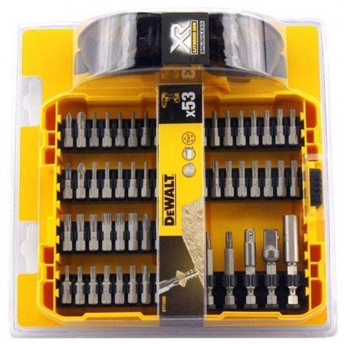 Акс.инстр DeWALT Набор dt71550 бит, магнит. держателей, 53 предм.