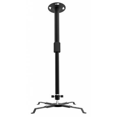 Крепление для проектора Walfix pb-15b нагрузка: до 12 кг, наклон: 30?, вращение: 360 град, отступ от потолка: 400-650мм