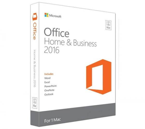 MS Office Mac 2016 Home and Business English 1пк Medialess p2 (w6f-00855)