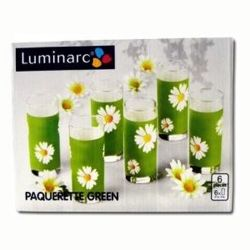 Набор стаканов Luminarc PAQUERETTE GREEN g1970