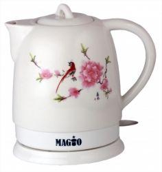 Электрочайник MAGIO MG-105 1300W-1500W/1,3л/диск/керамика