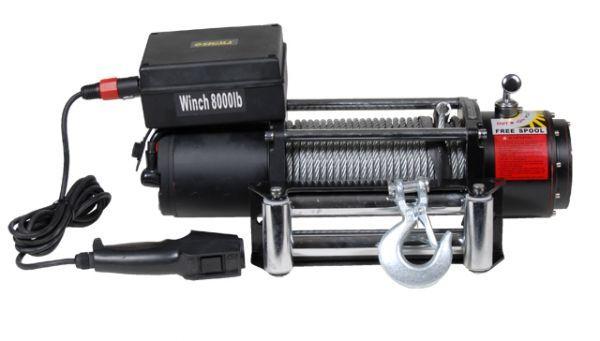 лебедка автомобильная электрическая 8000lbs Sigma 6130031