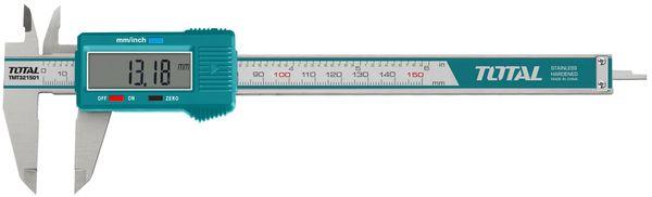Измер.прибор total tmt321501 штангенциркуль цифровой