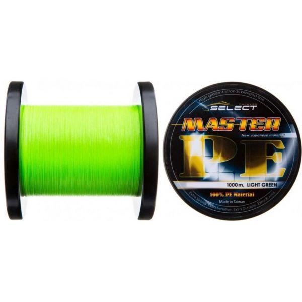 Шнур Select Master pe 1000m 0.16мм 19кг (1870.01.83)