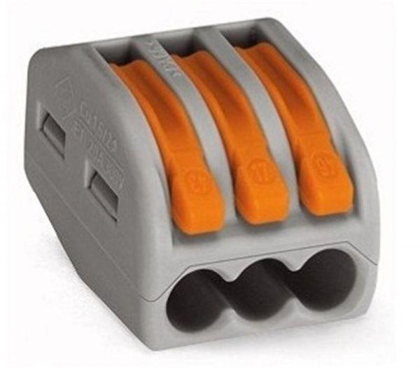 Коннектор Smartfortec cmk-413 3-контактный (100 шт/уп)
