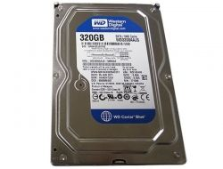 Western Digital Caviar Blue, 320Gb 7200 rpm SATA2 8Mb (WD3200AAJS)