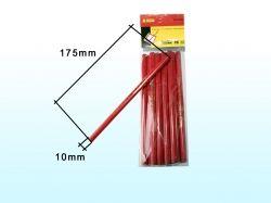 Олівець столярний (12 шт) ТМ INTER TOOL