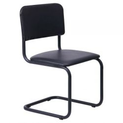 Офисный стул AMF Сильвия черный Неаполь N-36