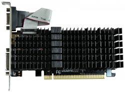 Видеокарта Gigabyte PCI-Ex GeForce GT 710 1024MB DDR3 (64bit) (954/1800) (HDMI, DVI, VGA) (GV-N710SL-1GL)