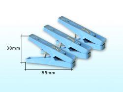 Прищіпки 20шт (50мм) пластмасові ТМ БЕЛАЯ ЦЕРКОВЬ