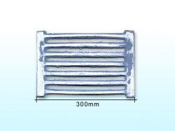 Решітка чавунна колосникова L=300мм ТМ АЛЬЯНС