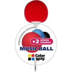ColorWay Music Ball CW-005, Red