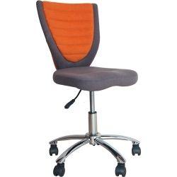 Офисный стул Office4You POPPY, серо-оранжевое