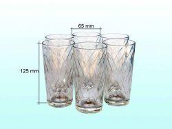 Набір стаканів Етюд (6х200мл) 05с1259 ОСЗ