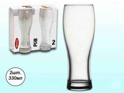 Набір келихів д/пива 330мл (2шт) (Pub) 41782 ТМPASABAHCE