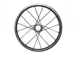 Колесо на велосипед d-16 заднє хром ТМКОЛЕСО - Картинка 1