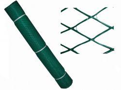 Сітка декоративна (ромб) 30х30мм h-1,5м, l-10м Д-30/1,5/10 темно-зел. ТМКЛЕВЕР