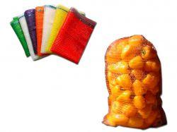 Сітка овочева 10кг 30х47 (100шт) помаранчева ТМPACKETOFF