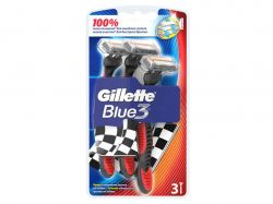 Бритви одноразові GILLETTE Blue 3 Red (3 шт)