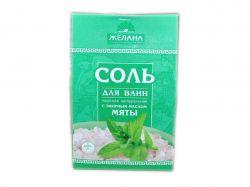 Сіль для ванни 500г (Мята) ТМЖЕЛАНА