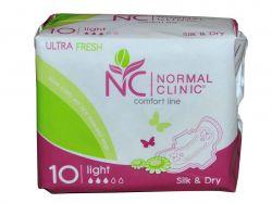 Прокладки гігієнічні 10 шт3 кр. (Ultra Fresh SilkDry) ТМNORMAL CLINIQUE