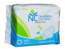 Прокладки гігієнічні 10 шт3 кр. (Ultra Fresh SilkCotton) ТМNORMAL CLINIQUE