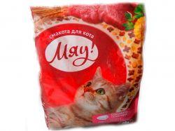 Сухий корм для дорослих котів Повнораціонний з телятиною 400гр ТММЯУ