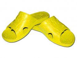 Капці пляжні дитячі (6 пар) Губка-Боб (30-35р.), арт. SV-013 жовті ТМCROSS