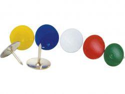 Кнопки кольорові, 100 шт. ТМBUROMAX