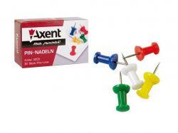 Кнопки-цвяшки кольорові 30шт округлі 4203 ТМAXENT
