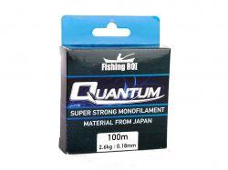 Лiска d=0,18 (100м) 2.6kg Quantum 152-5-18 ТМFISHING ROI