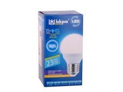 Лампа LED G45 5Вт 3000K E27 ТМИСКРА