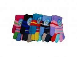 Перчатки дитячі для дівчинки (3-5 років) ассорт. ТМКИТАЙ