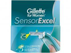 Змінні картриджі для жіночого гоління SENSOR Excel (5 шт)