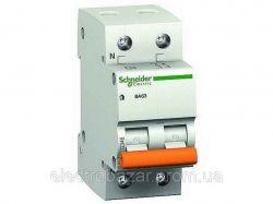 Автоматичний вимикач ВА63 1рн 63А ТМSCHNEIDER