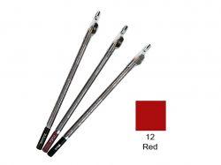 Олівець із точилкою ML-190 №12 червоний ТМАСТРА КОСМЕТИК