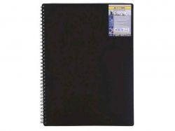 Книжка для записів на пруж. Classic А6 80арк. чорний арт.BM.2589001 ТМBUROMAX
