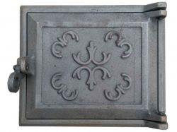 Дверцята чавунні топочні (ДТ-1) Квітка 240х200 ТМВОДОЛІЙ-ЯП