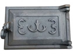 Дверцята чавунні піддувні (попільник) Квітка 240х170 ТМВОДОЛІЙ-ЯП