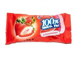 Вологі серветки з ароматом полуниці (15 шт.) ТМ100% ЧИСТОТЫ