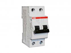 Автоматичний вимикач 2Р SH202 В25 А ТМABB