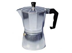 Гейзерная кофеварка Con Brio,6 порций,300мл, серебро СВ-6106