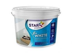 Фарба 1,4кг Ice WHITE для стель та стін ТМSTAR PAINT