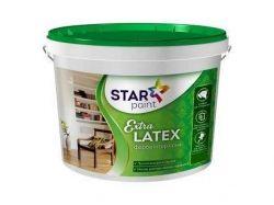 Фарба 4кг Extra LATEX інтер'єна ТМSTAR PAINT