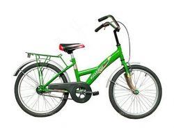 Велосипед пiдлiтковий 20 Junior 57 зеленочорний 114411 ТМХВЗ