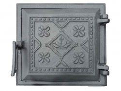 Дверка чавунна топочна Вишиванка 265х250, (72) ТМБУЛАТ