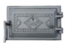 Дверка чавунна піддувальна Вишиванка 265х165, (73) ТМБУЛАТ