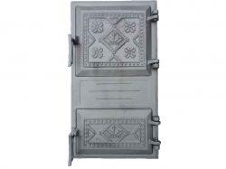 Дверка чавунна спарена Вишиванка, (75) ТМБУЛАТ